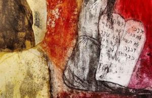 Detail van een fresco